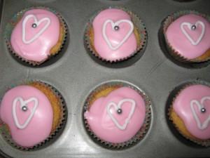 Valentine's Fariy Cakes