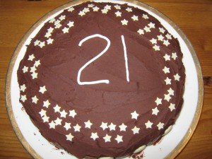 21 today!