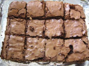 Chocolate Brownies £4 for 12, £8 for 24